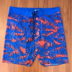 🏄OLD NAVY Swim Surf Pool Beach Hawaii Shorts XXL